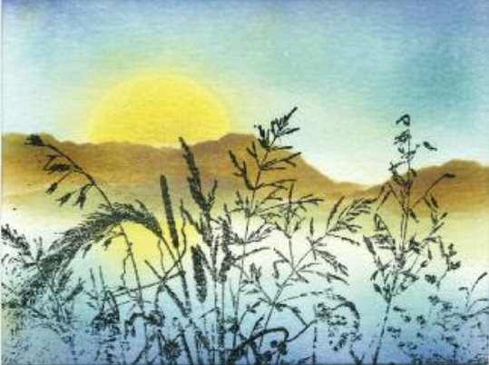 Grass in the Sun - Susan Mangis Noroski