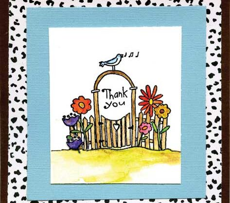 Thank You by Sue Williams