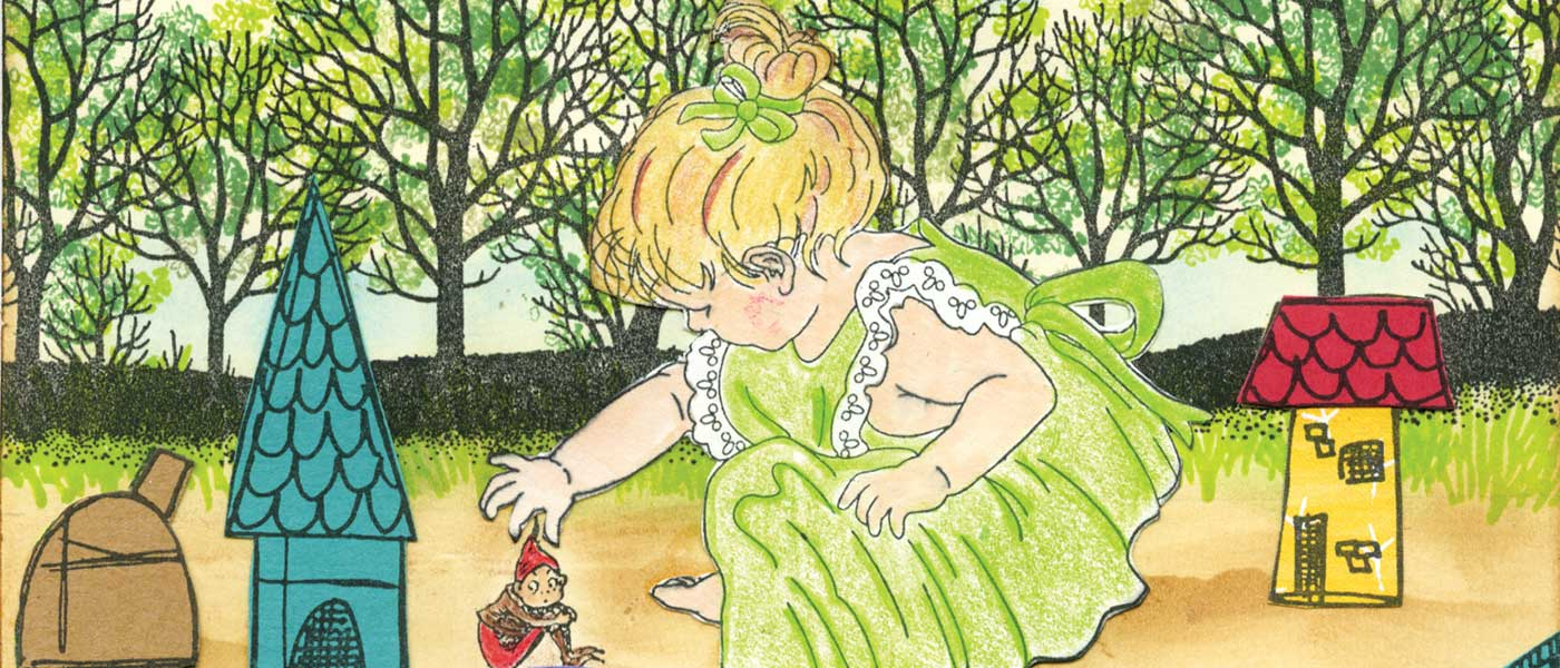 Gulliver's Daughter in the Land of Lilliput by Sharon Schuman