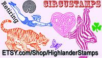 Circustamps Highlander